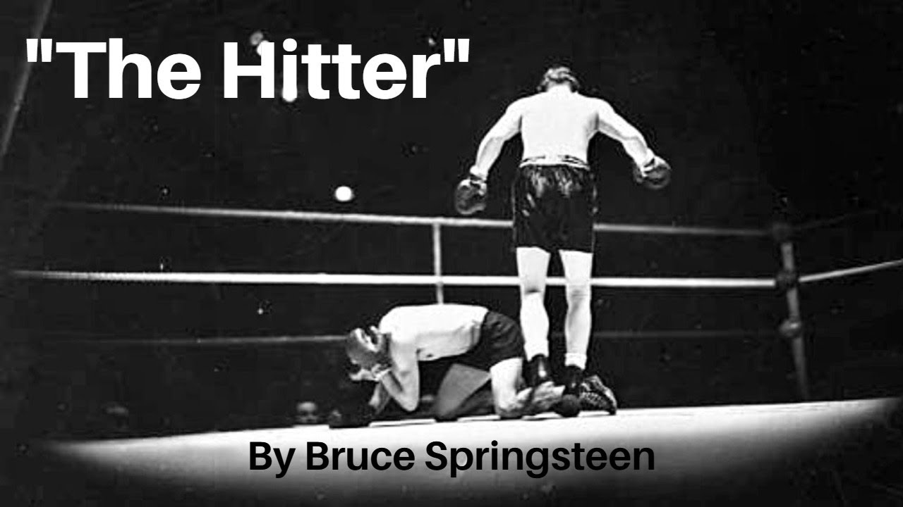 Download The Hitter by Bruce Springsteen with Lyrics from Devils and Dust Album, 2005