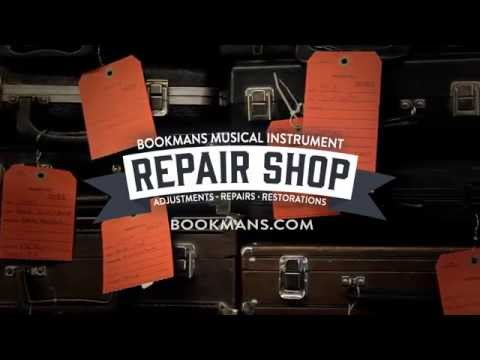 Bookmans Musical Instrument Repair Shop