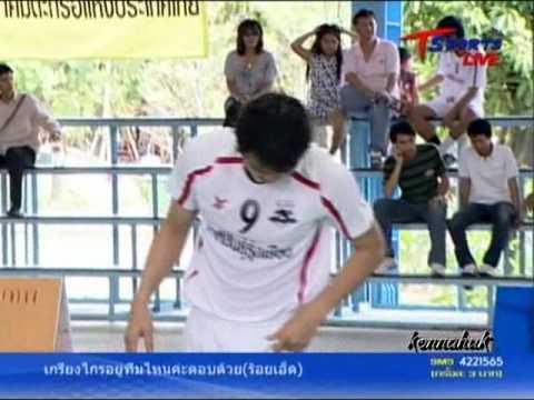 2011 Sepak Takraw Thailand League '' Bangkok Vs Karasin 6 of 10