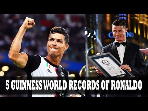 5 Guinness World Records held by Cristiano Ronaldo | Amazing Facts