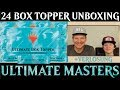 Unboxing 24x Box Topper Ultimate Masters Magic the Gathering deutsch TraderOnlineVideo MTG Trader