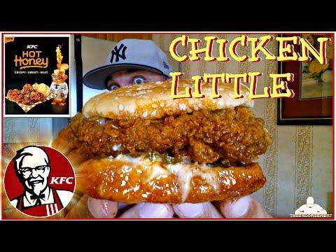 KFC® | Hot Honey Chicken Little Review! 🔥🍯🐔