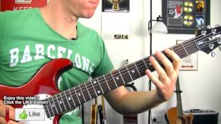 Killing In the Name ★ RATM ★ Guitar Riff Lesson ★ How to play Rage Against The Machine