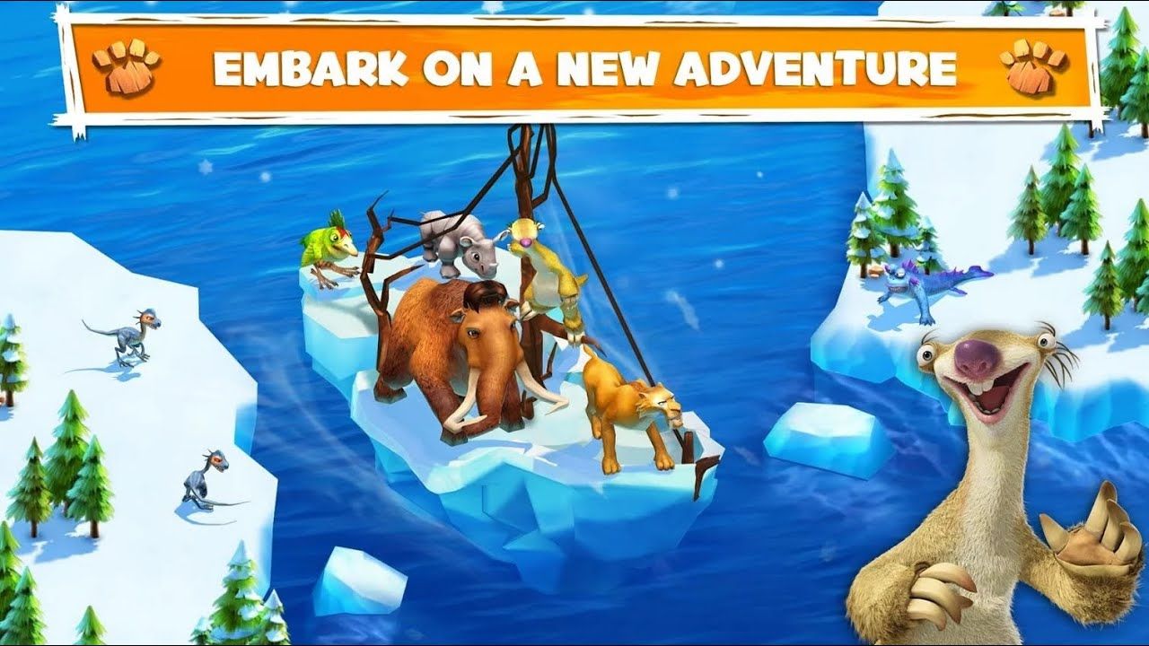 Ice Age Adventure game for iPhone 2018
