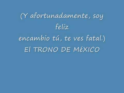EL TRONO DE MEXICO LYRICS BYPATY_0001.wmv