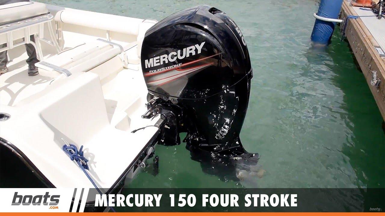 medium resolution of mercury 150 four stroke first look video sponsored by united marine underwriters