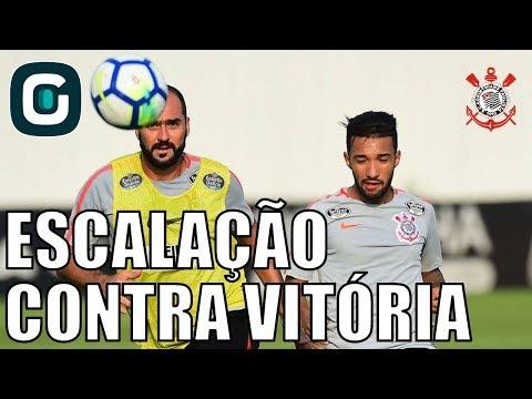 Corinthians X Vitória| Ralf, Clayson E Maycon Titulares - Gazeta Esportiva (24/04/18)