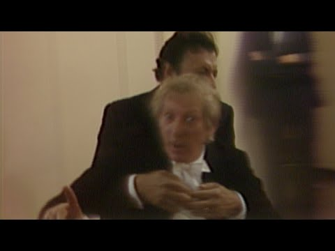 Danny Kaye, Zubin Mehta, and friends talk backstage (1981)