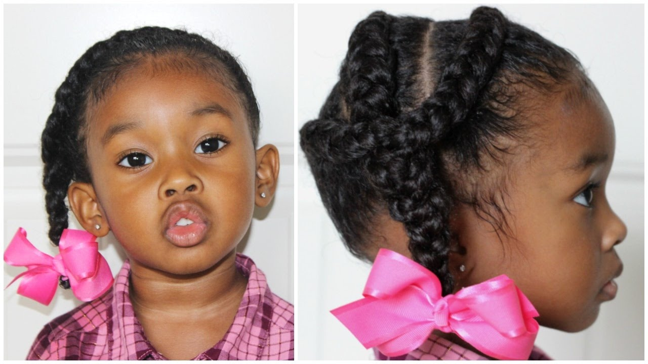 French Braid Hairstyles For Little Girls 30 Days Of Hairstyles