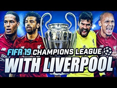 FIFA 19 Champions League Gameplay - LIVERPOOL Part 1