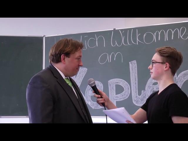Bürgermeister zu Gast am Kepler| Diskussion zur Verkehrssituation und Schulhofgestaltung