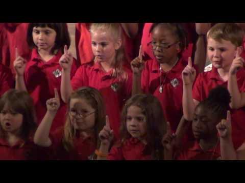 Warner Christian Academy Choir 1ST Grade May 2016