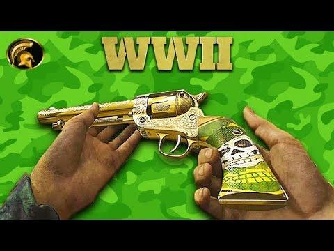 COD WW2 - NEW RESISTANCE Pistol (REICHSREVOLVER) (Gold/Diamond/Chrome Camo) How To Unlock Guide