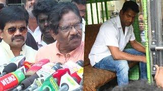 விஷால் தான் Tamil Rockers சீரும் Bharathiraja , J K Ritheesh | TFPC | Producer Council
