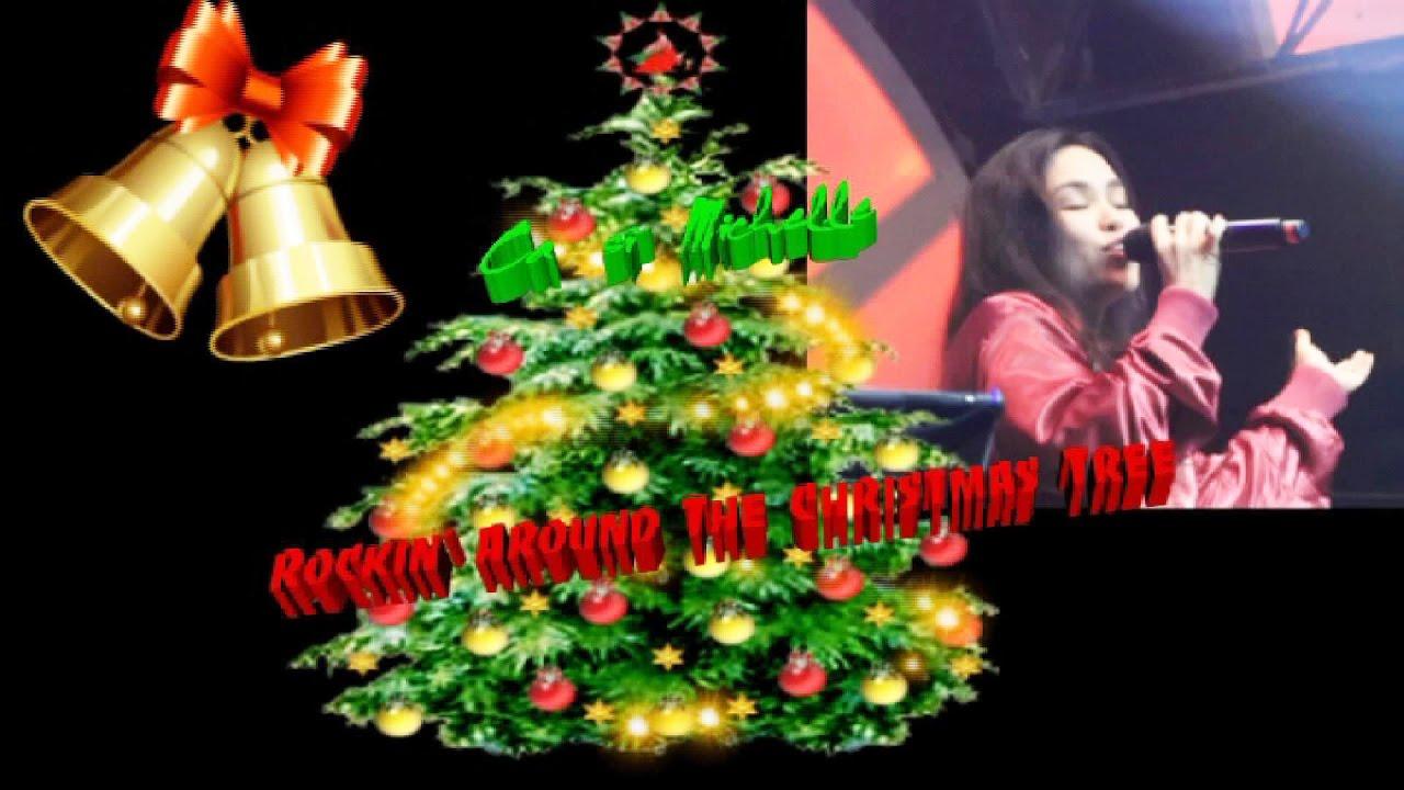 Rockin' Around The Christmas Tree (Karaoke) - Michelle LIVE (CBC Band, 11-25-2016) - YouTube