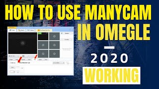 How To Set Up Manycam In Omegle 2019 [Working]