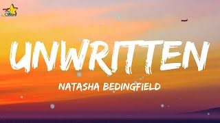 Natasha Bedingfield - Unwritten (Lyrics) Staring at the blank page before u open up the dirty window