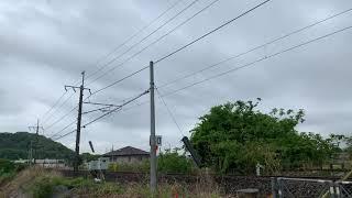 185系運用 足利大藤まつり号 桐生〜足利間 渡瀬川