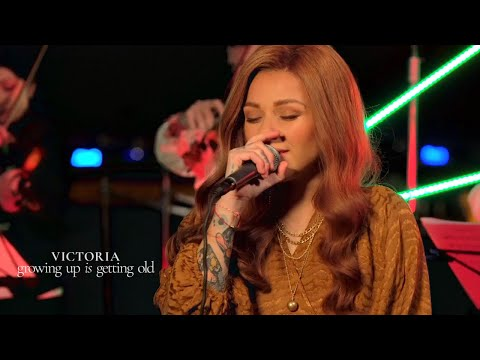 VICTORIA - Growing Up is Getting Old -  1st Live Performance - Eurovision 2021 Bulgaria - EP Version
