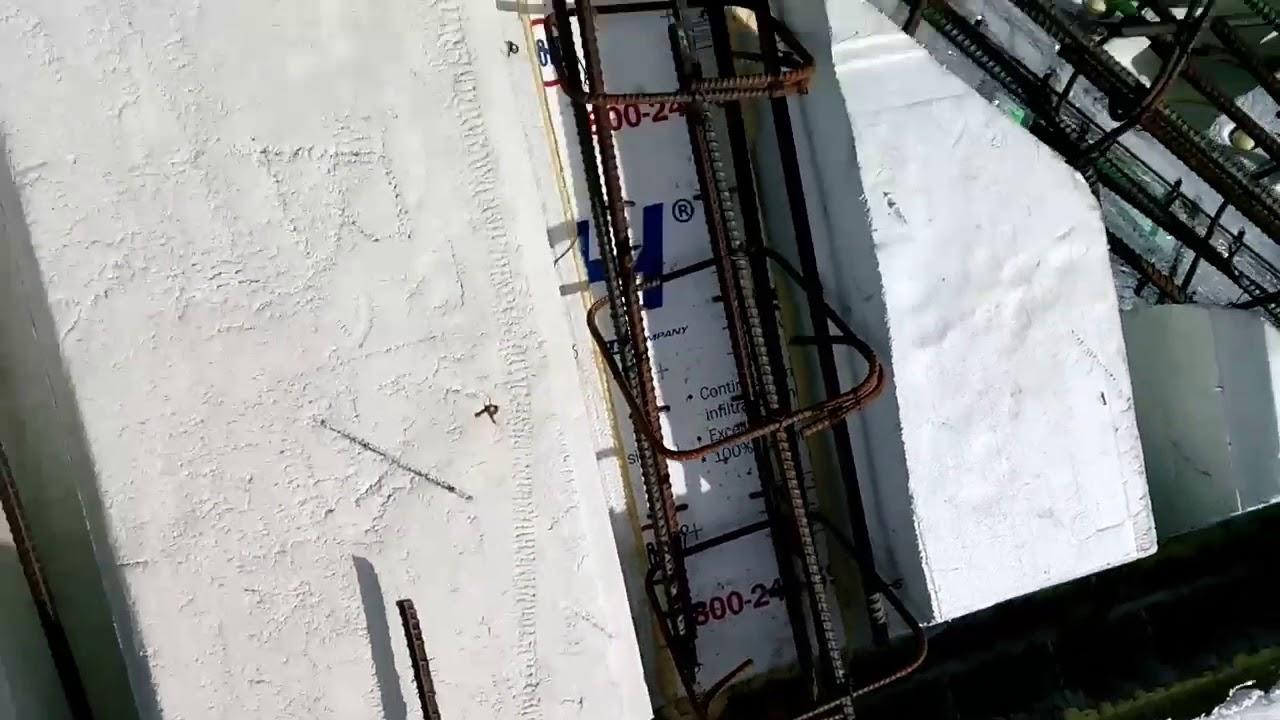 Insul-deck pitched concrete roof pt4