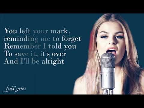 KYGO -  REMIND ME TO FORGET [LYRICS] - DAVINA MICHELLE (COVER)
