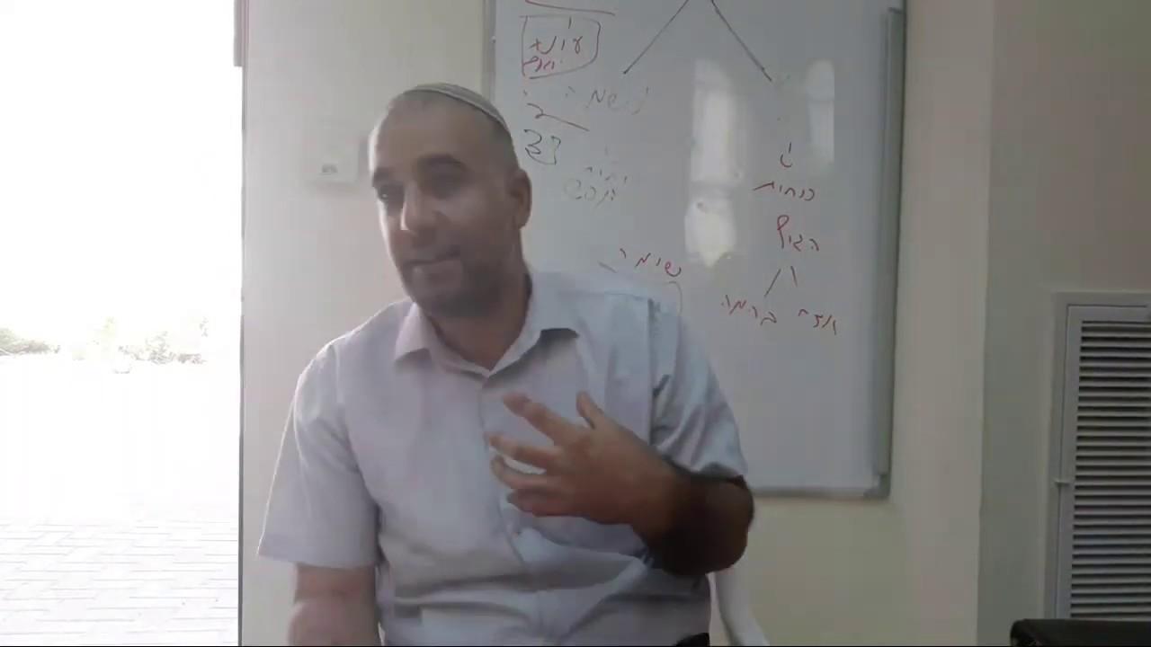 הרב אמיר שרון - אברהם אבינו ועניין שבירת הפסלים - פרשת וירא התש''פ