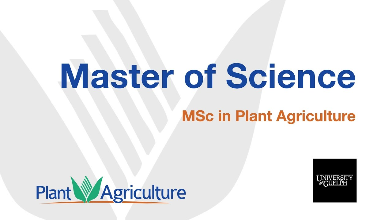 Agriculture m.sc