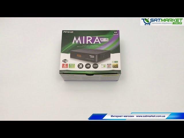 Видео обзор Amiko Mira WiFi