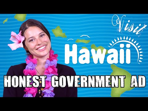 Honest Government Advert | Visit Hawai