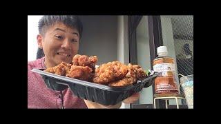 から揚げ弁当 お弁当のヒライ 398円(税別)