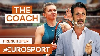 How Halep Will Win Her First Grand Slam | The Coach | French Open 2018 | Eurosport