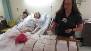 Sterile Dressing Change Skills Video