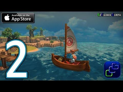 Oceanhorn: Monster of Uncharted Seas iOS Walkthrough - Part 2 - Tikarel, Bomb Island