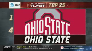College Football Playoff: Top 25 | (November 27th, 2018)