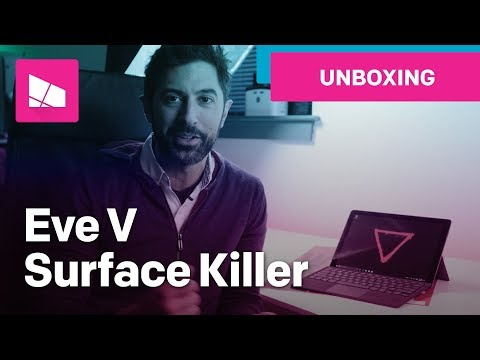 Eve V Unboxing: The Surface Pro Killer