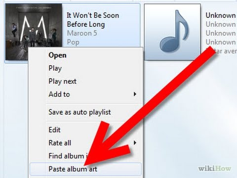 How to create album art for your android music players