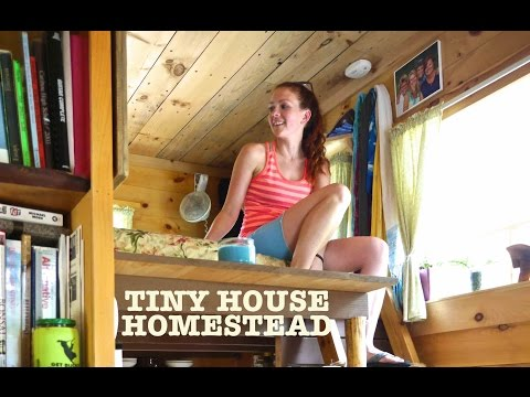 """Tiny House Homestead (""""The Upcycled Micro Home"""")"""