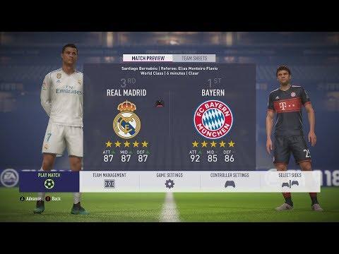 [PL] FIFA 18 - Półfinał Ligi Mistrzów 2018 Real vs Bayern