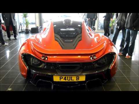 Cambridge Supercar Event Dec 2013: Amazing sounds Performante, McLaren P1 etc.