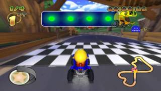 Pac-Man World Rally (PS2 Gameplay)