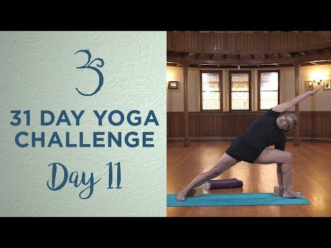 Day 11 - Standing Poses with Popsi Narasimhan - 31 Day Yoga Challenge