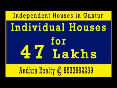 Individual Houses in Guntur - Booking Open - 47 Lakhs with Bank Loan