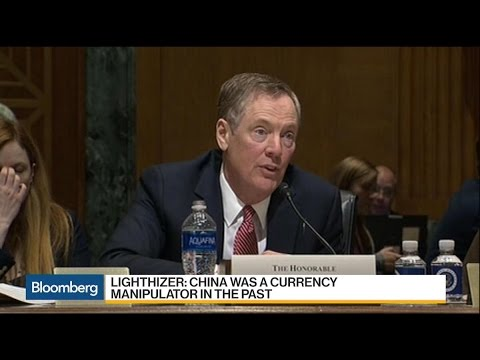 Lighthizer Sees China as a Key Issue