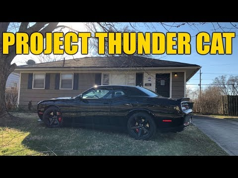"How to Pay for a 2018 Dodge Hellcat Challenger - Project ""Thunder Cat"" Investment Property!"