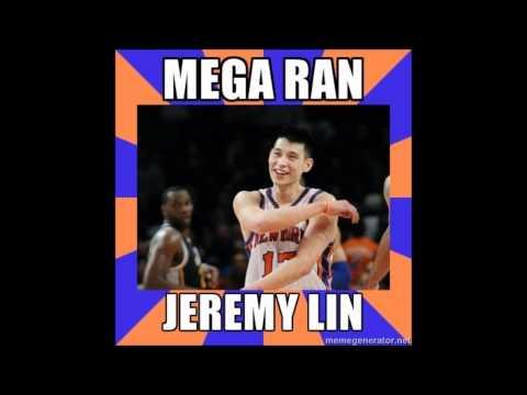 Mega Ran - Jeremy Lin Rap. (new mix) HD