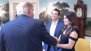 Donald Trump Jr. Brings Fox News Anchor Kimberly Guilfoyle to White House