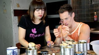 EXTREME TIN CAN CHALLENGE (with Davey Wavey)