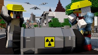Minecraft | NUCLEAR BOMB CHALLENGE - Nuclear Finale! (NUKE VS CITY)