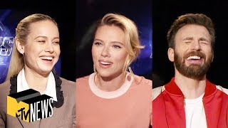 Avengers Endgame Cast Play Most Likely To MTV News