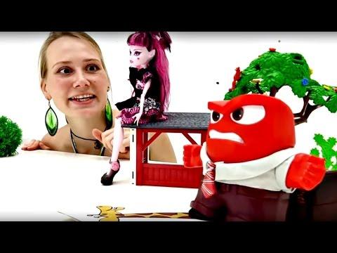Видео для девочек. Куклы Монстр Хай. Маша, Дракулаура и гнев пугают страх